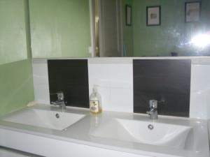 Sale de bain lavabo